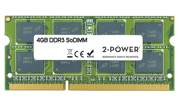 30WGV 4GB MultiSpeed 1066/1333/1600 MHz DDR3 SoDiMM