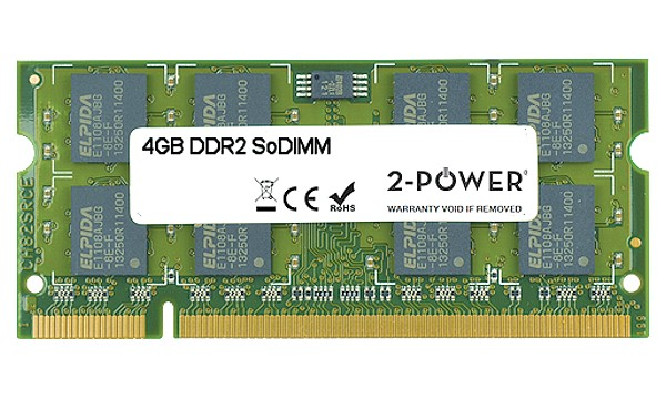 Satellite L500D-14R 4GB DDR2 800MHz SoDIMM