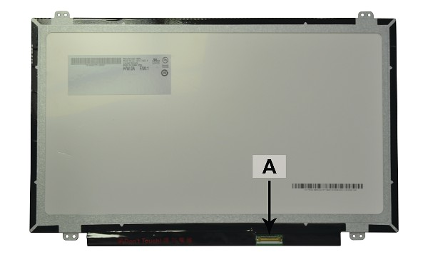 "HB140WX1-301 14.0"" 1366x768 WXGA HD LED Glossy"