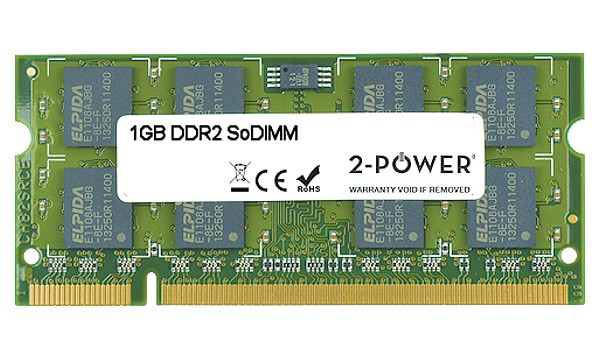Studio 1555 1GB DDR2 667MHz SoDIMM