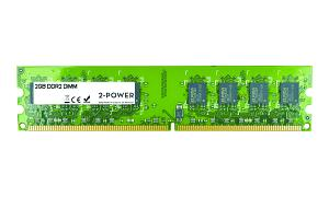2GB MultiSpeed 533/667/800 MHz DDR2 DIMM