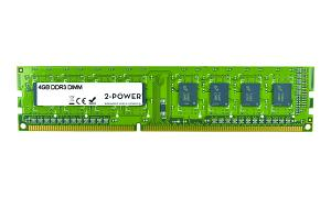 4GB MultiSpeed 1066/1333/1600 MHz DDR3 DIMM
