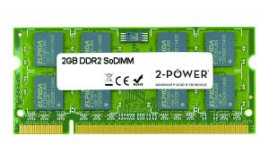 2GB MultiSpeed 533/667/800 MHz DDR2 SoDIMM
