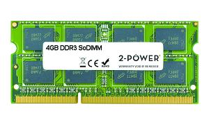 4GB MultiSpeed 1066/1333/1600 MHz DDR3 SoDiMM
