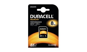 Duracell 8GB SDHC UHS-l geheugenkaart