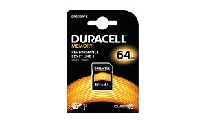 Duracell 64GB SDXC UHS-I geheugenkaart