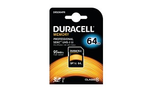 Duracell 64GB SDXC UHS-3 geheugenkaart