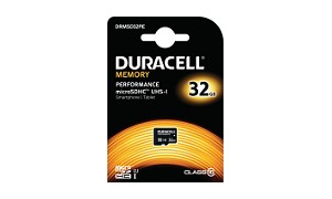 Duracell 32GB microSDHC UHS-I geheugenkaart