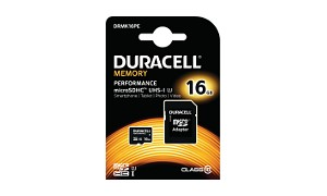 Duracell 16GB microSDHC UHS-I geheugenkaart incl SD adapter