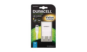Duracell 1A Phone Charger + Cable