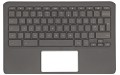 L52192-031 Top Cover w/ UK Keyboard